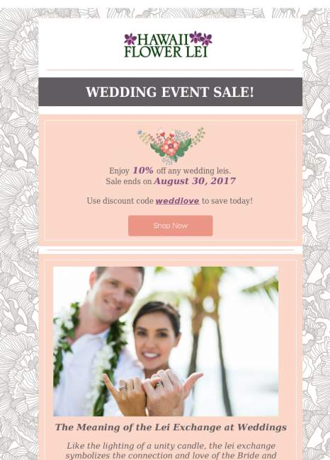 Wedding Sale has arrived!